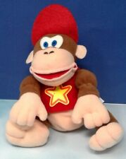 Vintage EB Games Promo BD&A N64 Nintendo 64 Diddy Kong Plush Stuffed Animal Toy
