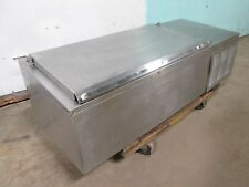 Delfield Hd Commercial Counter Top Self Contained Refrigerated Topping Rail