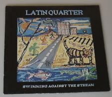 """PRL) DISCO LP 33 GIRI 12"""" VINILE VINYL LATIN QUARTER SWIMMING AGAINST THE STREAM"""