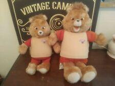 Vintage 1985 Teddy Ruxpin Talking Bear World of Wonder You Get Both