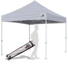 10x10 Gray Ez Pop Up Canopy Outdoor Garden Party Shade Tent Trade Show Gazebo
