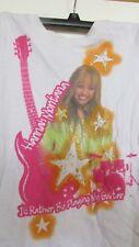 Disneys Hannah Montana Girls M 10/12 GAP short sleeve white t shirt