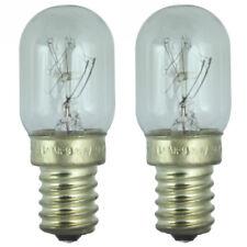2x 15w NEVERA Lámpara para Samsung NEVERA 240v. SES (E14)