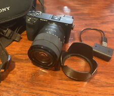 Sony 6500 mirrorless digital camera with SEL1852761 Lens