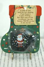 A LUMP OF COAL GANZ NEW IN FACTORY SEALED PACKAGE WITH POEM FREE US SHIP~