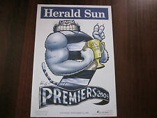 GEELONG CATS 2009 AFL PREMIERS MARK KNIGHT POSTER