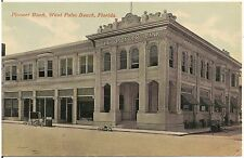 Pioneer Bank in West Palm Beach FL Postcard