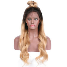 fashion-wicca-Body-Wave-Front-lace-wig-Remy-Hair-Brazilian-Human-Hair straight