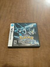 Pokemon Black Version 2 (Nintendo DS) Original Case Artwork & Manual Only