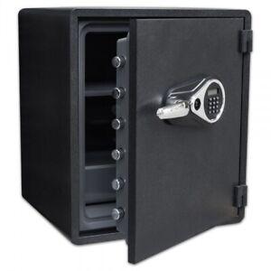 Sicherheitstresor ST-100 Safe Tresor feuerfest Geldschrank 62Kg Brandschutz