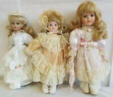 Dolls House Stile Vittoriano Cameriera Serva Cucinare in porcellana rosa persone
