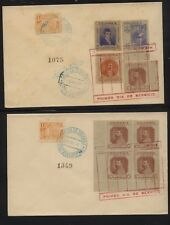 Colombia     2  nice  first  day  covers               KL1025