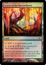 Foil GROVE OF THE BURNWILLOWS From the Vault: Realms MTG Land Rare