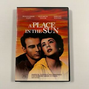 A Place In The Sun (DVD, 2011) 1951 film Montgomery Clift Region 4