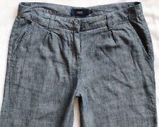 Wide Leg Linen Blend Trousers NEXT for Women