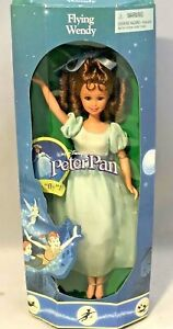 1997 Mattel Disney Peter Pan Flying Wendy Doll 19297 Damaged Box NRFB