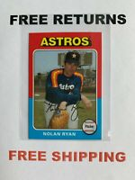 2019 Topps Archives Mini Parallel Card #75M-53 Nolan Ryan Houston Astros HOF MLB
