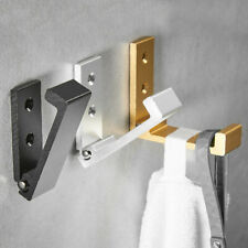 Wall Mounted Foldable Single Hook Hanger For Clothes Coat Towel Holder Organizer