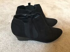 Ladies wedge ankle boots - Size 5