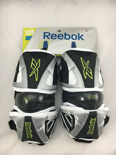 NEW Reebok Lacrosse 10K Elbow Pads Size Extra Large (Black/Silver/Lime)