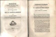 3 documenti GRENOBLE Senat de Savoie 1835/39 Victoire BALMAIN vs DOMENGET