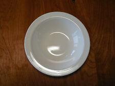 """Corning Pyroceram WHITE NARROW RIM Set of 5 Fruit Bowls 6 1/4"""""""