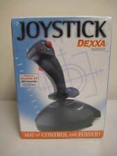 Dexxa / Logitech Flight Simulator Joystick Controller for PC Gameport DB15
