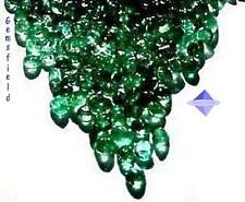 IF à VS !!! EMERAUDES de COLOMBIE !!! LOT 25 brillants de 1,5mm vert bouteille