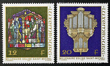 Timbres / Stamp LUXEMBOURG Yvert et Tellier n°1126 à 1127 n** (cyn10)