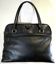 Marc Jacobs Releigh Black Leather Satchel Tote bag