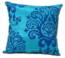2 x HOUSSES COUSSIN BAROQUE & DECO Turquoise 40x40 cm
