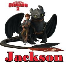 How to train your Dragon custom TSHIRT Personalize Birthday party gift Hiccup