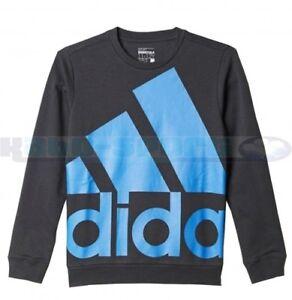 adidas Childrens Oversized Logo Sweatshirt ages 4/5 5/6 7/8 9/10 11/12