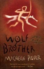 MICHELLE PAVER WOLF BROTHER 1ST EDITION HARDBACK SIGNED WITH PROMO