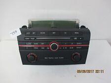 2006-09 Mazda3 CD6 Radio Controls & Info Display Screen BR9E-66-9HO