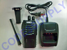 Programmable two way radio walkie talkie UHF Motorola Kenwood replacement