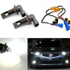9005 CSP LED High Beam Headlights DRL With Decoders For Honda Civic Acura TSX TL