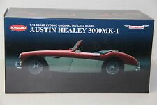 1/18 KYOSHO AUSTIN HEALEY 3000 MK-1, NEW , 08141RW , RED / WHITE