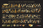 """Arrowhead Timeline Poster - """"14,000 Years in the Ozarks"""" - Indian Artifacts"""