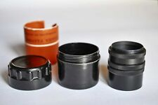 TUBE RING to camera M42 MOUNT for Macro Photo Russian Soviet USSR+ Bakellit case