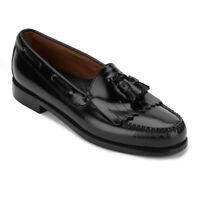 G.H. Bass & Co. Mens Weejuns Layton Genuine Leather Tassel Slip-on Loafer Shoe
