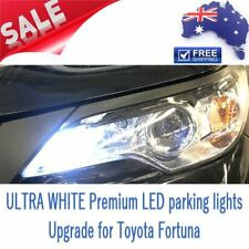 ULTRA White Premium LED Parking Lights Bulbs Upgrade for Toyota Fortuner