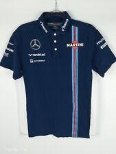 Hackett Williams Martini Blue White Men's Racing Polo Shirt Size L