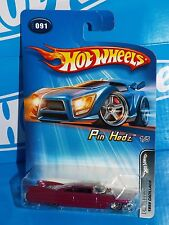 Hot Wheels 2005 Pin Hedz Series #091 1959 Cadillac Plum with WSPs