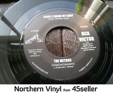 METROS + ROY HAMILTON 'Since I Found My Baby + Cracking Up' EX Northern Soul 45