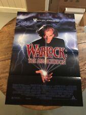 Warlock: The Armageddon 1993 Original Movie Poster Fantasy Horror