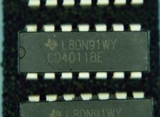 4 x CD4011 Quad Dual-input NAND gate IC's + 4 IC Sockets - FREE Postage
