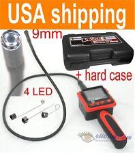 "2.4"" LCD Camera Video Inspection Endoscope Pipe Car Borescope Waterproof + CASE"