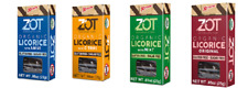 ZOT ORGANIC LICORICE - FREE SHIPPING - MIX OR MATCH ANY 4 FLAVORS