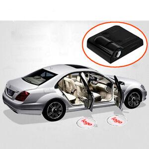 2X Car Led Wireless Door Courtesy Light for Jaguar Logo Welcome Shadow Laser